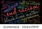 end racism word cloud on a... | Shutterstock .eps vector #1026123949