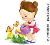 illustration. funny cartoon. a... | Shutterstock . vector #1026128026