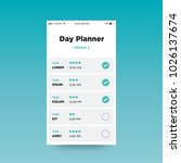 day planner app ux ui design...