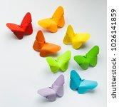 Origami Paper Butterflies