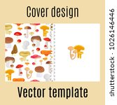 cover design for print with... | Shutterstock . vector #1026146446
