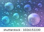 light pink  blue vector... | Shutterstock .eps vector #1026152230