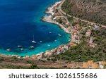 limeni is a village in laconian ... | Shutterstock . vector #1026155686