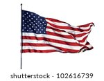 """large u.s. flag """"old glory""""... 