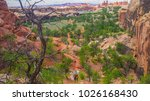 canyonlands national park... | Shutterstock . vector #1026168430