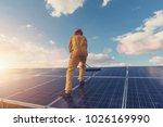renewable energy and solar...   Shutterstock . vector #1026169990