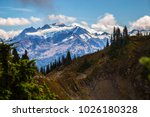 high divide backpacking trail... | Shutterstock . vector #1026180328