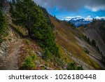 high divide backpacking trail... | Shutterstock . vector #1026180448