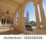 fatima church pilgrimage site....   Shutterstock . vector #1026182038