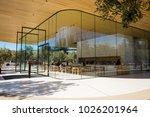 apple visitor center  1 apple... | Shutterstock . vector #1026201964