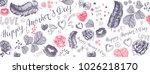 happy mother's day full vector... | Shutterstock .eps vector #1026218170