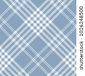 plaid check pattern in dusty... | Shutterstock .eps vector #1026248500
