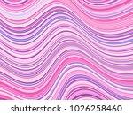 futuristic curve lines wavy... | Shutterstock .eps vector #1026258460