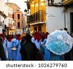 velez malaga  spain   february... | Shutterstock . vector #1026279760