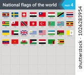 flags of the world. vector... | Shutterstock .eps vector #1026283954