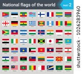 flags of the world. vector... | Shutterstock .eps vector #1026283960