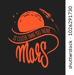 mars colonization and...   Shutterstock .eps vector #1026291730