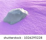 abstract image of violet snow... | Shutterstock . vector #1026295228
