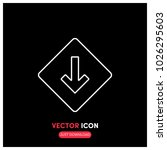 low priority vector icon...