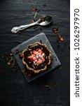 delicious organic strawberry... | Shutterstock . vector #1026297970