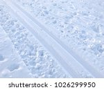 closeup image of cross country... | Shutterstock . vector #1026299950