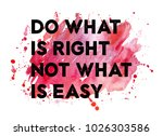 inspirational quote with... | Shutterstock . vector #1026303586