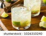 homemade brazilian caipirinha... | Shutterstock . vector #1026310240