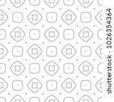seamless ornamental vector...   Shutterstock .eps vector #1026354364