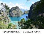 island hopping coron island in... | Shutterstock . vector #1026357244