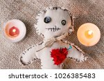 voodo puppet baby | Shutterstock . vector #1026385483