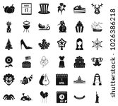 folklore holiday icons set.... | Shutterstock .eps vector #1026386218