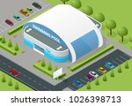 isometric illustration of... | Shutterstock .eps vector #1026398713