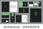 corporate identity branding... | Shutterstock .eps vector #1026402076