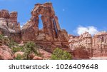 druid arch in canyonlands... | Shutterstock . vector #1026409648