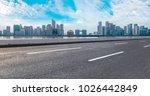 view of the skyline of hangzhou ... | Shutterstock . vector #1026442849