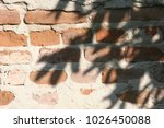 old red bricks wall | Shutterstock . vector #1026450088