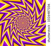 yellow and purple  spin... | Shutterstock .eps vector #1026487336