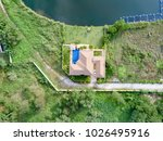 plot of land with house and... | Shutterstock . vector #1026495916