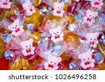 teddy bear and gummy bear party ... | Shutterstock . vector #1026496258