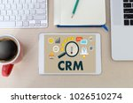 business customer crm... | Shutterstock . vector #1026510274