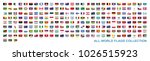 all world countries flags...   Shutterstock .eps vector #1026515923