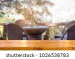 empty wooden table space... | Shutterstock . vector #1026538783