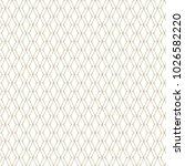 vector golden mesh seamless... | Shutterstock .eps vector #1026582220