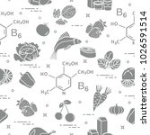 seamless pattern with foods... | Shutterstock .eps vector #1026591514