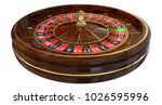 Casino Roulette Isolated On...