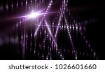 lights violet background with... | Shutterstock . vector #1026601660