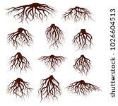 vector illustration   set of... | Shutterstock .eps vector #1026604513