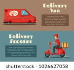 fast and free delivery. vector... | Shutterstock .eps vector #1026627058