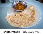 indian chapathi food    Shutterstock . vector #1026627748