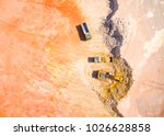 aerial view of a working... | Shutterstock . vector #1026628858